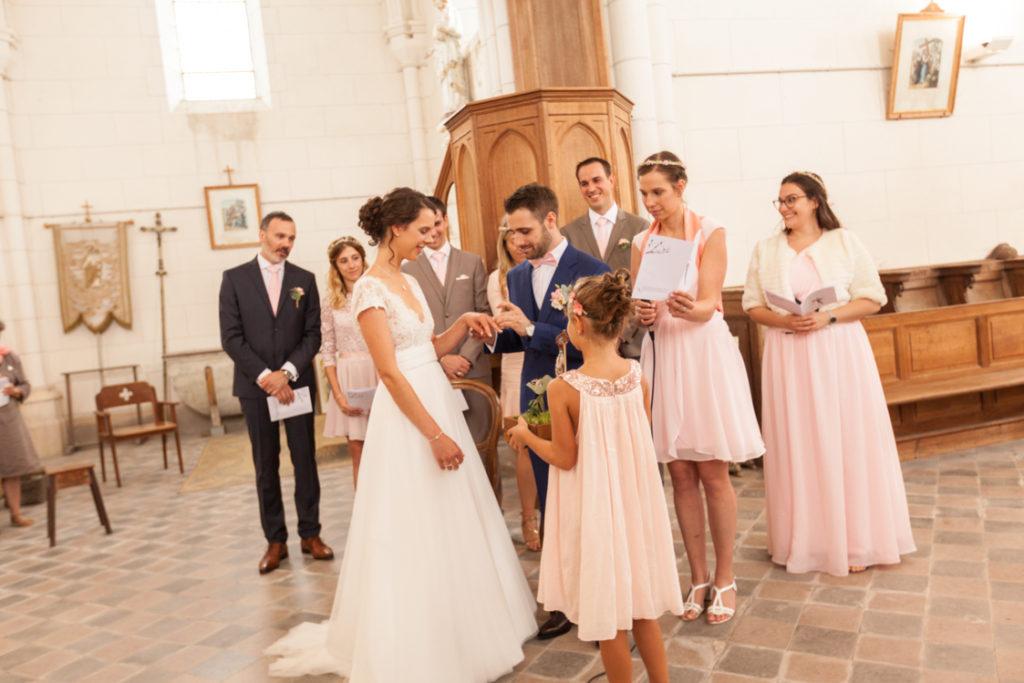 Photographe de mariage église