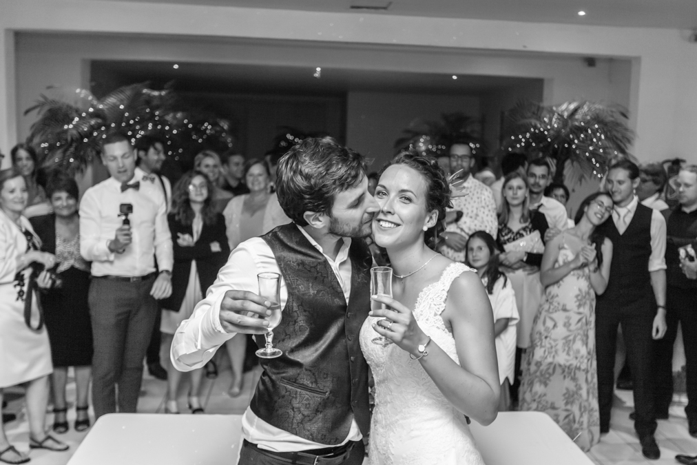 Photo soirée mariage bourgogne